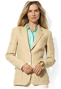 Lauren Ralph Lauren Wool Herringbone Jacket