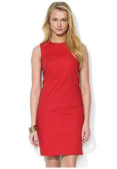 Lauren Ralph Lauren Sleeveless Crewneck Dress