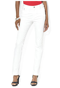 Lauren Ralph Lauren Slim-Fit Ankle Pant