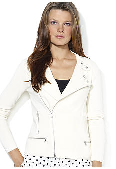 Lauren Ralph Lauren Cross-Body Zippered Jacket