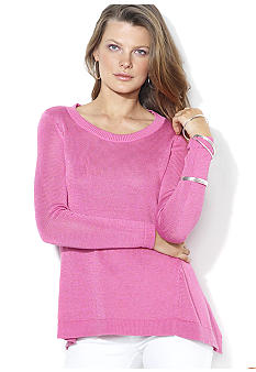 Lauren Ralph Lauren Long-Sleeved Ribbed Tunic