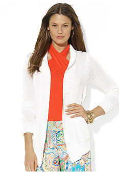 Lauren Ralph Lauren Long-Sleeved Knit Cardigan