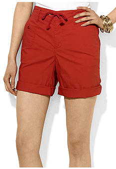 Lauren Ralph Lauren Cotton Poplin Short