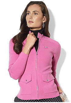 Lauren Ralph Lauren Long-Sleeved Full-Zip Jacket