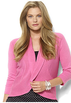 Lauren Ralph Lauren Dolman-Sleeved Circle Cardigan