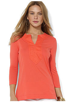 Lauren Ralph Lauren Krystol Combed Cotton Tunic