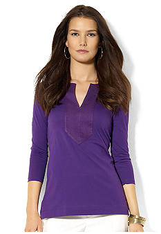 Lauren Ralph Lauren Combed Cotton Tunic