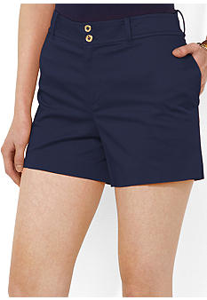 Lauren Ralph Lauren Cotton Sateen Short