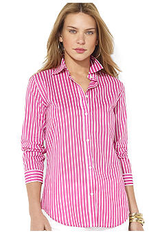 Lauren Ralph Lauren Striped Cotton Workshirt