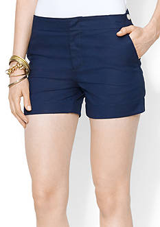 Lauren Ralph Lauren Cotton Piqu Short<br>