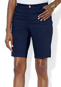 Lauren Ralph Lauren Cotton Sateen Bermuda Short