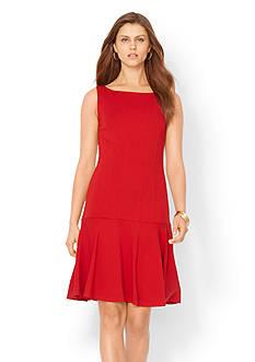 Lauren Ralph Lauren Sleeveless Drop-Waist Dress