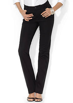 Lauren Ralph Lauren Straight Cotton Pant