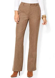 Lauren Ralph Lauren Wide-Leg Tweed Pant
