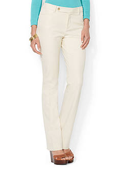 Lauren Ralph Lauren Stretch Cotton Twill Pant