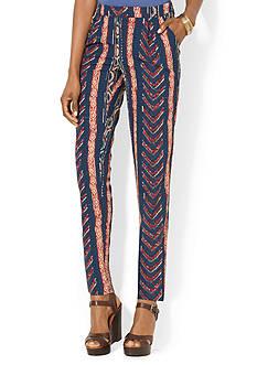 Lauren Ralph Lauren Striped Straight Pant<br>