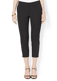 Lauren Ralph Lauren Stretch Skinny Cropped Pant<br>