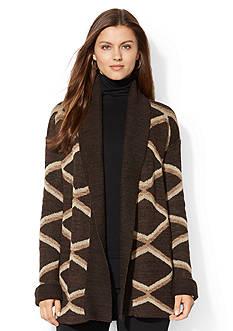 Lauren Ralph Lauren Diamond-Patterned Sweater
