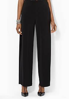 Lauren Ralph Lauren Jersey Wide-Leg Pant