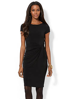 Lauren Ralph Lauren Knotted Jersey Dress