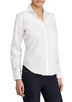 Lauren Ralph Lauren Wrinkle-Free Oxford Dress Shirt