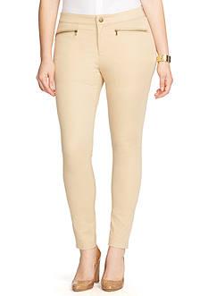 Lauren Ralph Lauren Zip Pocket Skinny Pant