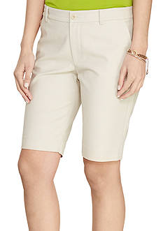 Lauren Ralph Lauren Stretch Cotton Short