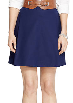 Lauren Ralph Lauren Flared Pleated Skirt