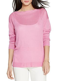 Lauren Ralph Lauren Relaxed Linen-Blend Sweater