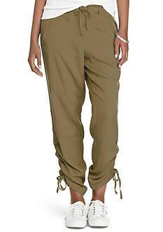 Lauren Ralph Lauren Twill Skinny Pants