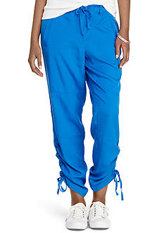 Lauren Active Skinny-Fit Drawstring Pants