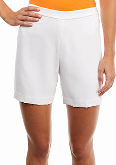 Lauren Ralph Lauren Sueded Crepe Short