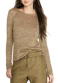 Lauren Ralph Lauren Cotton-Blend Sweater