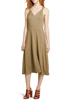 Lauren Ralph Lauren Twisted-Strap Jersey Dress