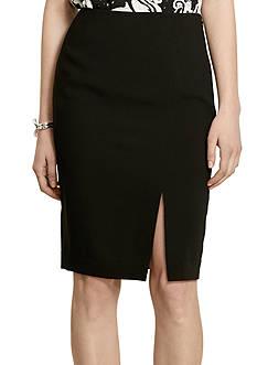 Lauren Ralph Lauren Crepe Pencil Skirt