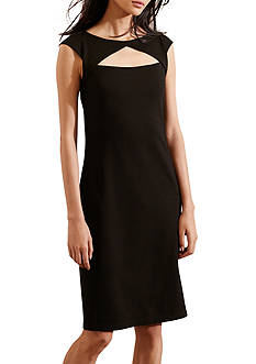 Lauren Ralph Lauren Ponte Cutout Dress