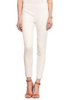 Lauren Ralph Lauren Stretch Cotton Skinny Pant