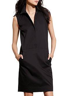 Lauren Jeans Co. Stretch Cotton Shift Dress