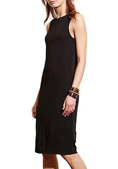 Lauren Ralph Lauren Asymmetrical-Back Jersey Dress