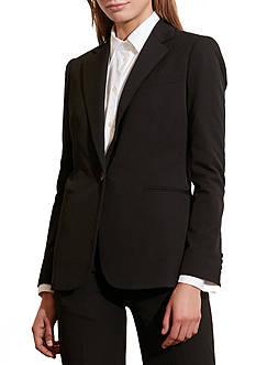 Lauren Ralph Lauren Single-Button Twill Jacket