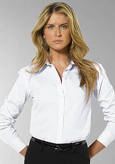 Lauren Ralph Lauren Petite Aaron Wrinkle-Free Shirt