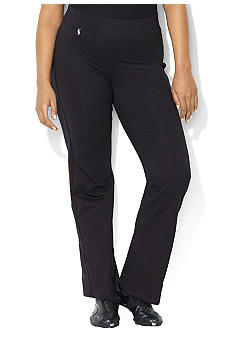 Lauren Ralph Lauren Petite Stretch Cotton Pant