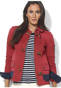 Lauren Ralph Lauren Petite Lobster-Claw Denim Jacket
