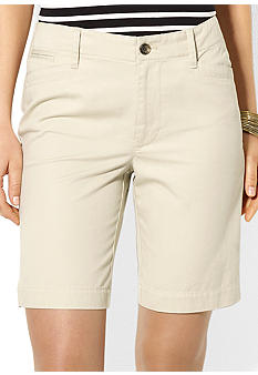 Lauren Ralph Lauren Petite Twill 5-Pocket Short