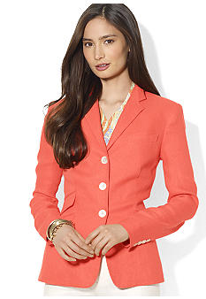 Lauren Ralph Lauren Petite Three-Button Jacket
