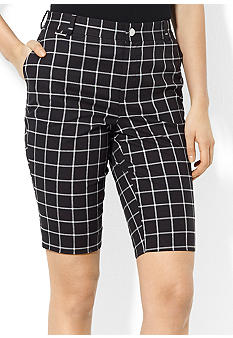 Lauren Ralph Lauren Petite Stretch Cotton Bermuda Short