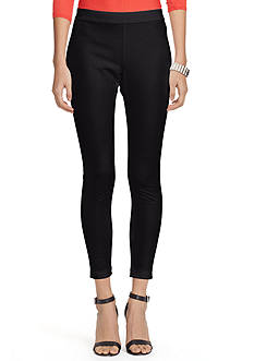 Lauren Ralph Lauren Petite Stretch Cotton Skinny Pants