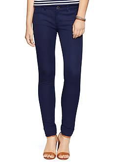 Lauren Ralph Lauren Petite Straight-Fit Stretch Jeans