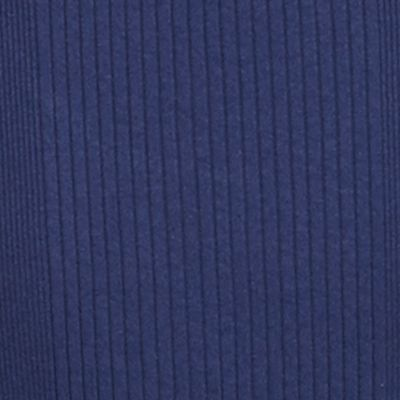 Lauren Ralph Lauren Petites Sale: Authentic Navy Lauren Ralph Lauren Petite Rib-Knit Cotton T-Shirt