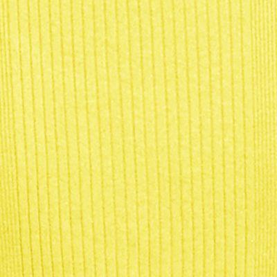 Lauren Ralph Lauren Petites Sale: Coastal Yellow Lauren Ralph Lauren Petite Rib-Knit Cotton T-Shirt